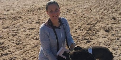 Esther Sanclemente auxiliar veterinaria